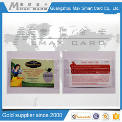 New products on china market silk screen scratch card/silk screen scratch paper