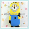 Soft case for samsung galaxy s3 mini,Cute 3D minions silicone case for Samsung Galaxy S3 mini I8190