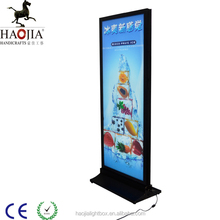 shop front advertising display standing magnetic led light box
