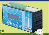 Luminous Energy Meter for Renewable energy uses.