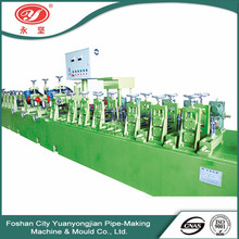 Cheap and fine quality china supplier bulk high frequency welding galvanized round tube making machine