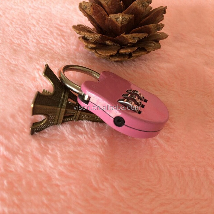 Mini password lock/Fashion luggage lock/Animal anti-theft lock