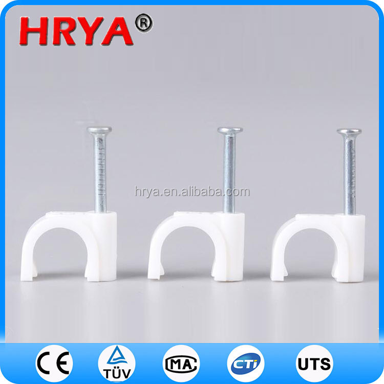hot sale flat cable clips p type cable clip
