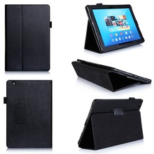 Leather Flip Shockproof Cover Solid PU Tablet Case For Sony Z4