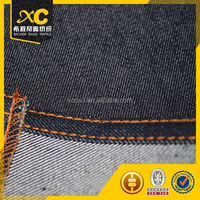 super stretch denim fabric material blue/black/indigo