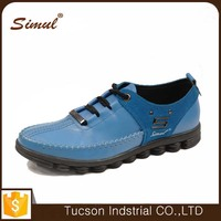 2016 new design fashion leather shoes for men