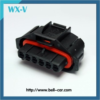 Free sample 6 pin Female automotive connector 936394-2