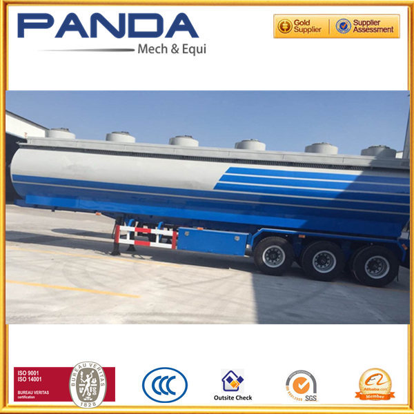 Widely used fuel tanker truck trailer/ crude oil semi tanker with volume optional