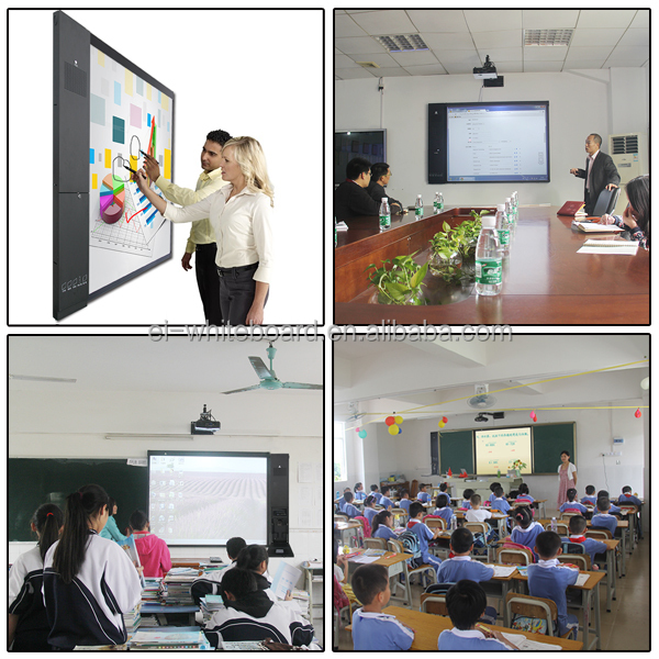 Ir Electronic Smart Board With Multi Touch Teaching