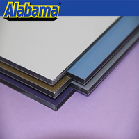 A 2 fireproof museum aluminum honeycomb panel, lows cheap wall paneling
