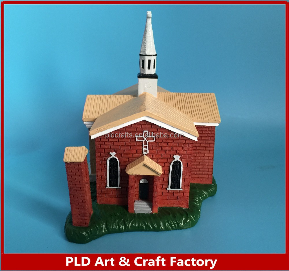 New Design Building Custom Polyresin Figurine/3D Art Sculpture