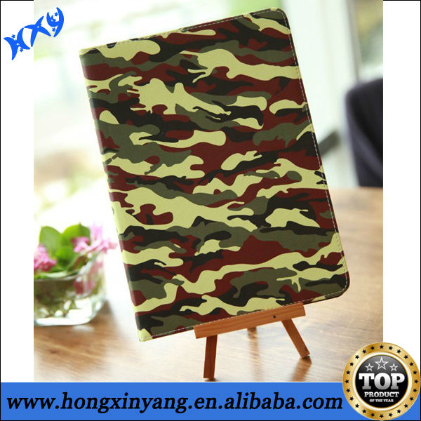 waterproof diving case for iPad 2/3/4/5 with camouflage pattern