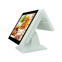 Dual 15 inch and 11.6 inch Point of sale system terminal machine