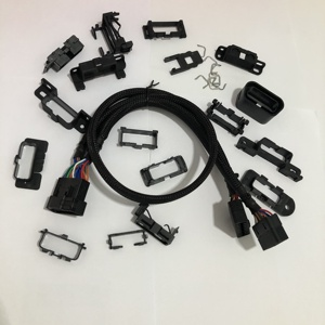 Assembled OBD male to female splitter Y cable for peugeot, renault, bmw,benz, honda,toyota, buick, gm and other car brands