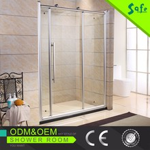 Luxury bathroom design aluminum shower screen from manufacturer china