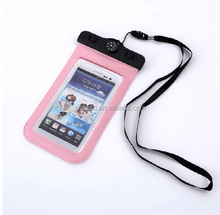 SCD-01-06 wholesale swimming equipment pvc newest design of mobile phone waterproof bag for moblie phone with compass phone