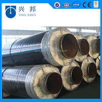 excellent thermal insulation property rock wool pipe 100% hydrophobe rock wool for black steel insulation