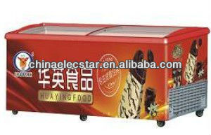 commercial island Freezer with Sliding Glass Lids,CE-approved,SD659