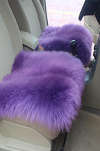 Tibetan lamb fur pillows and rugs for cars or chairs