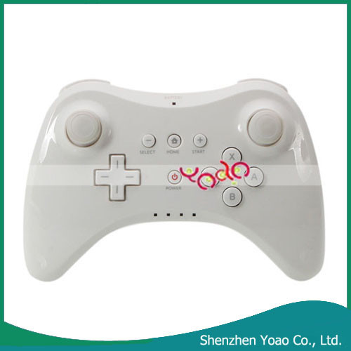 Premium Quality Pro Wireless Controller For Nintendo Wii U White