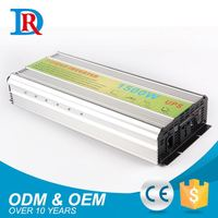 China Wholesale 1500W 12Vdc To 220Vac Ups Inverter With Built-In Charger
