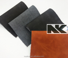 NK P027 PU high quality embossed leather for sofa