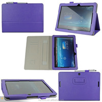 Unique SAFFIANO ID Card SD Card Slots Practical Hand Strap Stand Protector Tablet Case 10.1 Inch For ASUS MeMo Pad 10