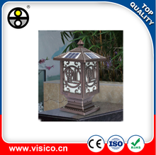 VISICO VXG0203 New arrival solar bollard led garden light in alibaba
