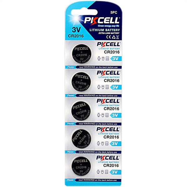 Lithium Button Cell Battery,CR2016 3.0v LiMo2 battery from pro manufacturer