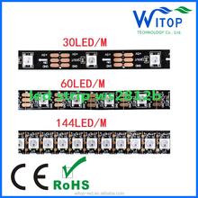 Factory price arduino digital full color 5m 30 pixel/m ws2812b ws2811 rgb led strip