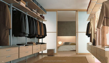 Modular bedroom furniture closet storage units
