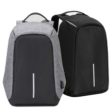 China supplier anti-theft shockproof laptop backpack bags with usb charging port for school