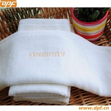 Hotel Project White Embroidery yoga towel