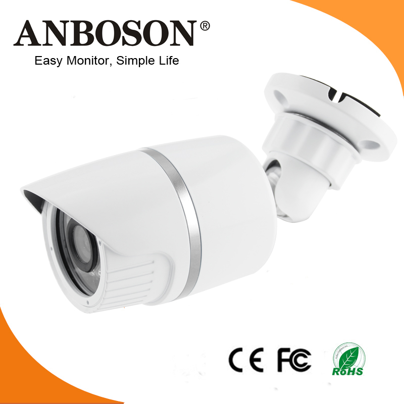 Power over Ethernet 3.6mm lens ROI feature 720P police security system