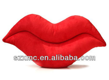 Big red lip cushion Personalized sexy pillows