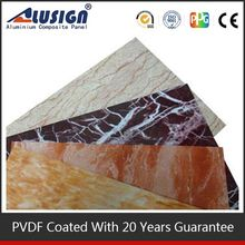 Alusign fashionable fireproof brick panels