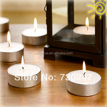 Presionado tea light candle