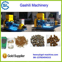 China manufacturer fish feed machinery floating fish feed pellet machine