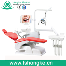 Best Sellling Dental Unit/Chair China with Top-amounted Tray HK-610