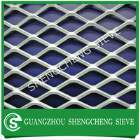 Heavy duty industrial iron mesh expanded metal sheet for trailer flooring