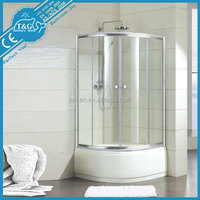 2016 Hot sale low price obscure shower glass door