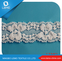 Ladies clothing neck design tricot lace