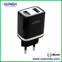 mobile phone usb charger 3.1A lcd usb universal charger
