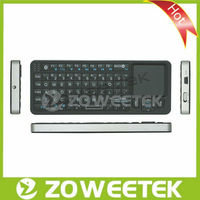 TV Wireless Multimedia Remote Control Keyboard with Touchpad