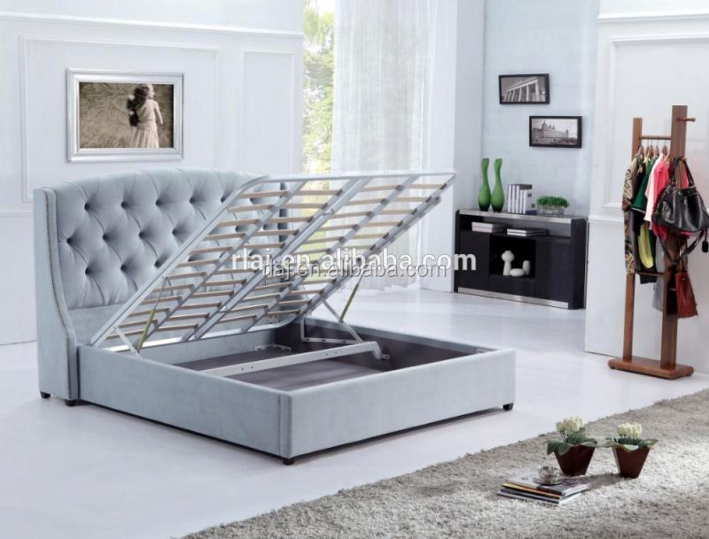 Double lift up storage bed mechanism buy lift up storage - Lift up storage bed ...