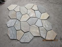 nature stone slate with various color