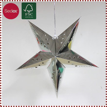 Hanging Paper Star for Christmas Decoration Items