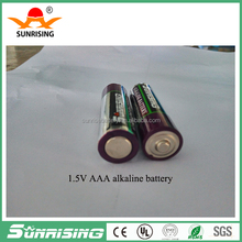 Zn/MnO2 discharge 380min Low Price China Manufacturer dry battery lr6 size aa am3 1.5v alkaline battery