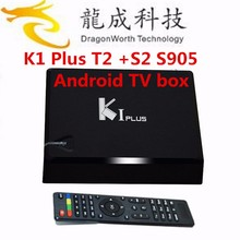 2016 good price Android satellite Pre-installed Latest Kodi 16.0 Fully Loaded k1 dvb s2 k1 plus