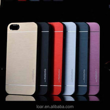2 hours reply Beautiful motomo metal case for iphone4 5 5c 5s Back cover